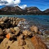 Red Rocks and Blue Sky, Freycinet Nat Park, Tasmania